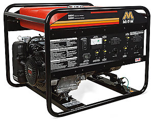 gas powered portable generators iowa