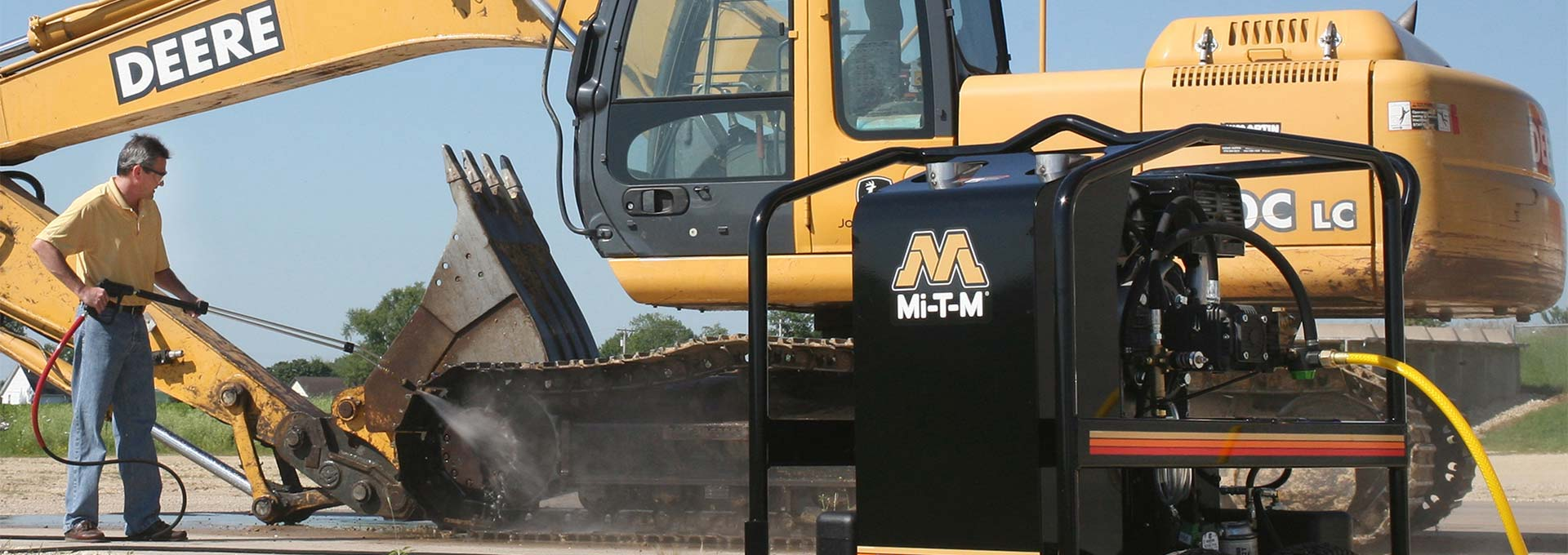 Mi-T-M Pressure Cleaning Equipment