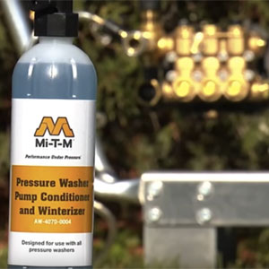 Winterize Pressure Washer